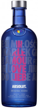 Absolut Vodka - Equal Love Limited Edition