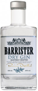 Barrister Dry Gin 70 cl
