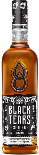 Black Tears Spiced Rum 70 cl.