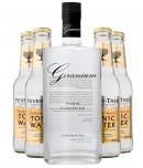 Geranium Gin + 4 stk. Fever-Tree Tonic