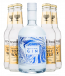 Arctic Blue Gin + 4 stk. Fever-Tree Tonic