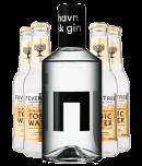 København Klassisk Gin + 4 stk. Fever-Tree Tonic
