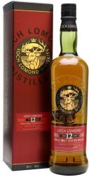 Loch Lomond 12 års Single Malt Whisky 70 cl