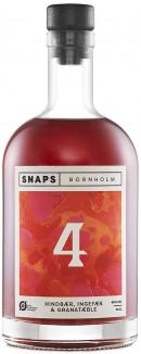 Snaps Bornholm No 4 Hindbær, Ingefær & Granatæble