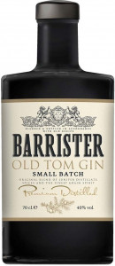 Barrister Old Tom Gin 70 cl