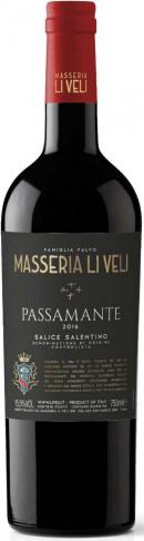 Masseria Li Veli `Passamante` Salice Salentino 2016