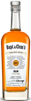 Bapt & Clem's Barbados Rum Ans 5 D'age Wine Finish
