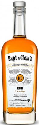 Bapt & Clem's République Dominicaine Ans 8 D'age Armagnac Finish