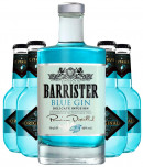 Barrister Blue Gin + 4 stk. Original Tonic Citrus