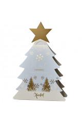 Xocolatl Juletræ m. Mint Karamel & Mørk Chokolade