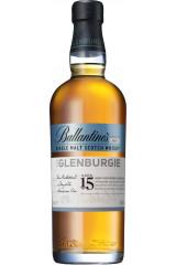 Ballantines The Glenburgie 15 års Single Malt Whisky 70 cl.
