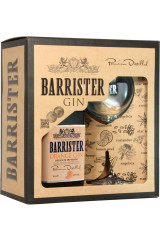 Barrister Gift Box - Orange Gin 70 cl Inkl 1 Glas