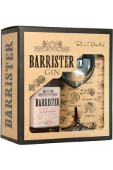 Barrister Gift Box - Pink Gin 70 cl Inkl 1 Glas