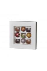 Xocolatl Premier Cru - 9 fyldte Chokolade ca. 80 g