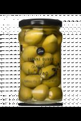 Gestus Grønne Oliven m. Hvidløg