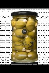 Gestus Grønne Oliven m. Mandler