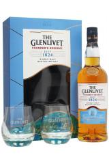 The Glenlivet Founder's Reserve Gaveæske M. 2 Glas