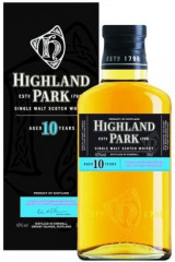 Highland Park 10 års Single Malt Whisky - 35 cl