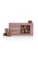 Karamelfabrikken  Blød lakridskaramel-fudge med flødechokolade.