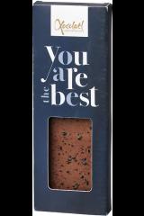 Xocolatl Snackbar - Karamelchokolade med lakrids og havsalt