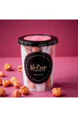 NoCrap Gourmet Popcorn m. Hindbær
