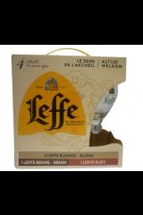 Leffe Gaveæske M. 4 Øl & 1 Glas