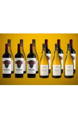 Zinfandel og Chardonnay 6+6 Valuekasse