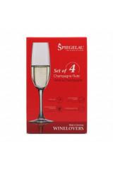 Spiegelau Krystal Champagneglas 4 stk.