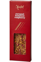 Xocolatl Snackbar - Caramel, Hazelnut and Raspberry