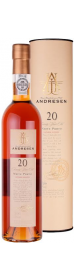 J.H. Andresen 20 Year Old White Port 50 cl.