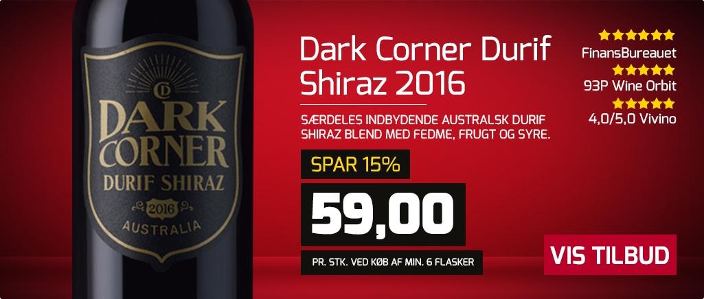 Dark Corner Durif Shiraz 2016