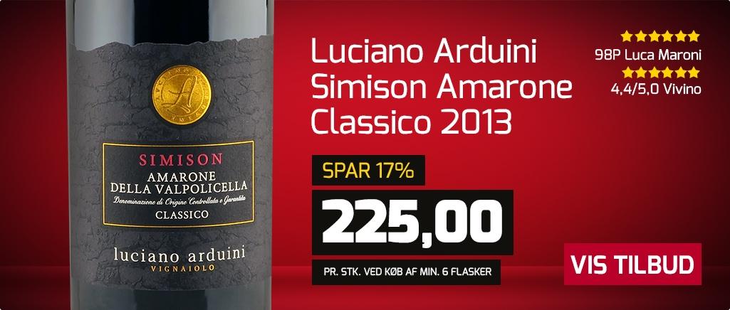Luciano Arduini `Simison` Amarone Classico 2013