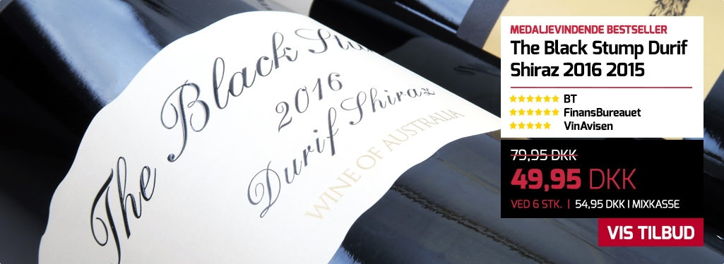 The Black Stump Durif Shiraz 2016