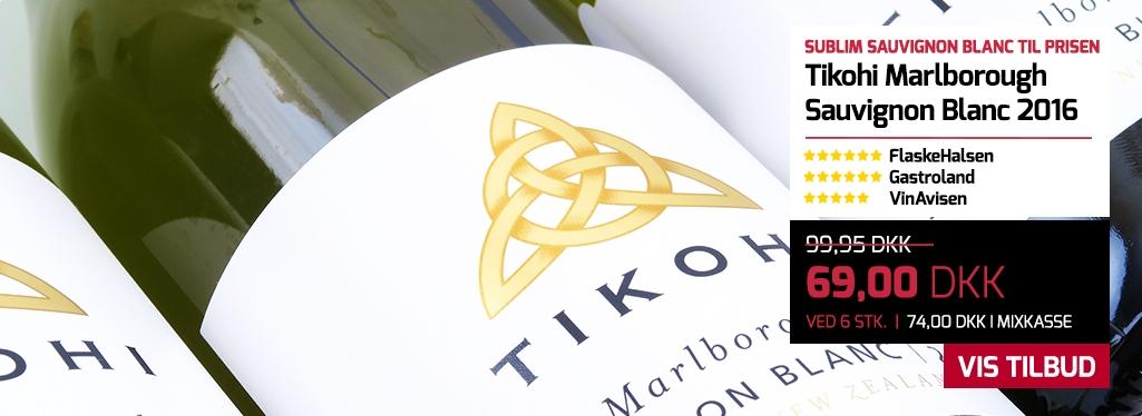 Tikohi Marlborough Sauvignon Blanc 2016