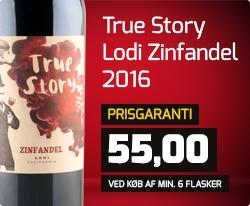 True Story Lodi Zinfandel 2016