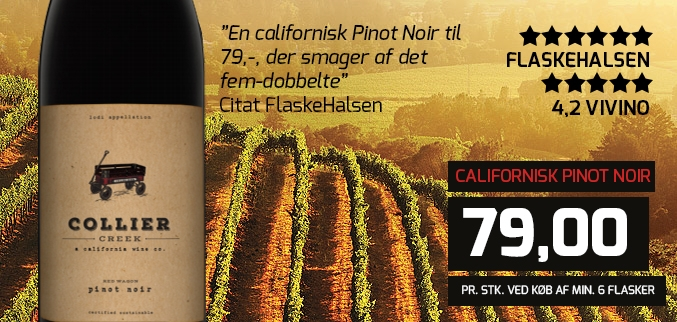 Collier Creek Pinot Noir