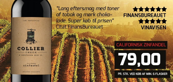 Collier Creek Zinfandel