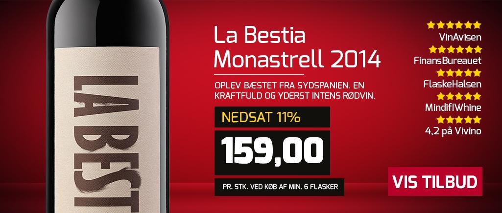 La Bestia Monastrell 2015
