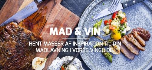 Mad & Vin - bliv inspireret til nye opskrifter i vores vinguide