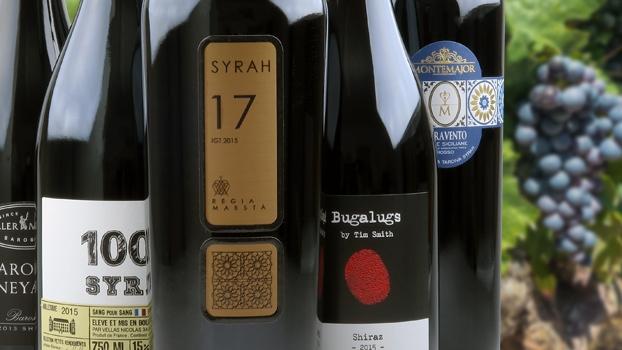 Pure Syrah smagekasse rødvin