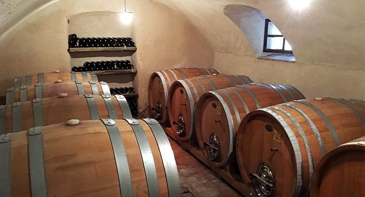 Vinkælder i Valpolicella, Veneto