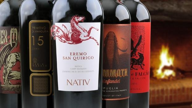Winter Tales smagekasse rødvin
